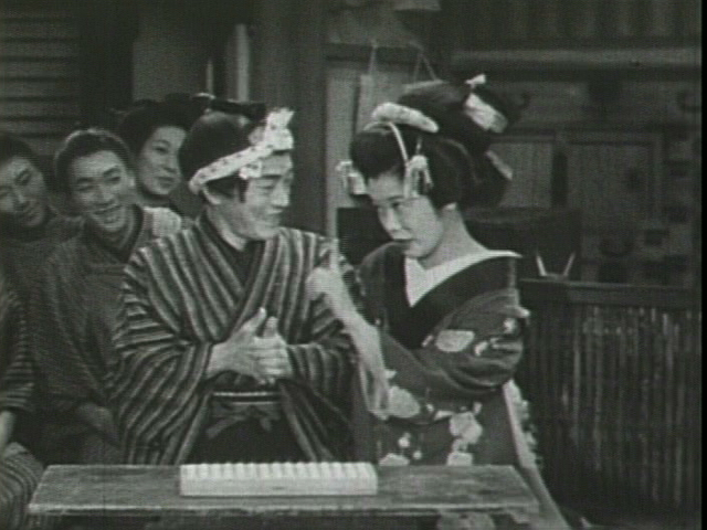 「エノケン笠置のお染久松」