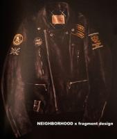 NEIGHBORHOOD x fragmentdesign カスタムライダースジャケット