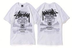 Stussy x mastermind JAPAN Shadow Skull WT Tee