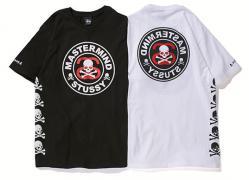 Stussy x mastermind JAPAN Circle Skull Tee