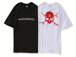 Stussy x mastermind JAPAN Skate & Skull Tee