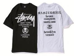 Stussy x mastermind JAPAN MMJ World Tour Tee