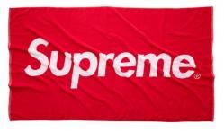 supreme バスタオル