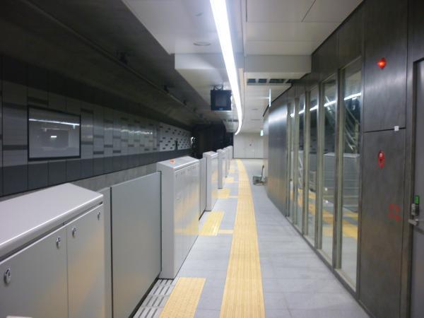 副都心線渋谷駅 工事状況1