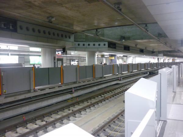 副都心線渋谷駅 工事状況3