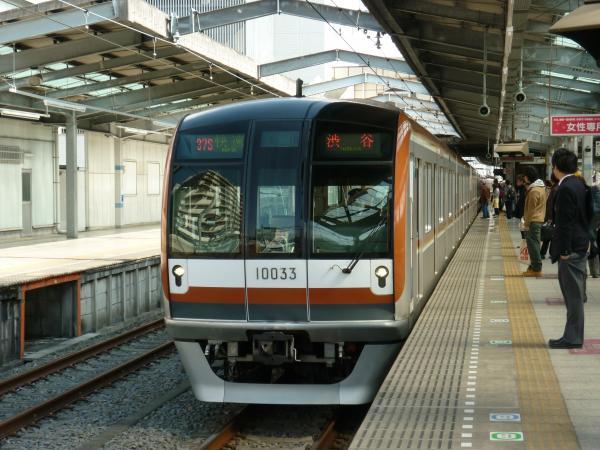 メトロ10133F 快速渋谷行き 2013-03-02