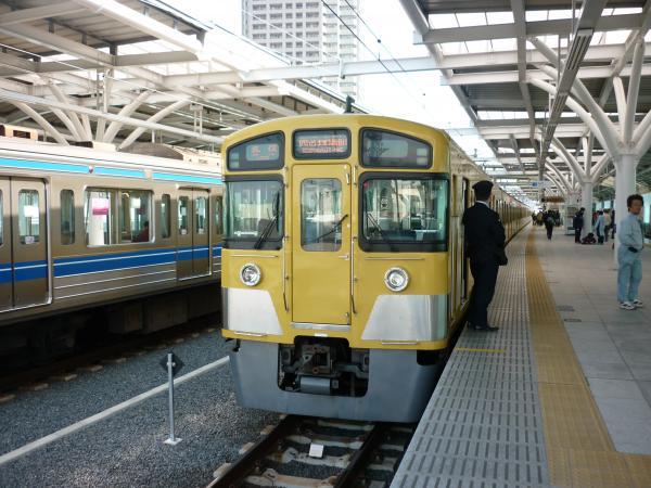 西武2087F 各停西武球場前行き2 2013-03-02