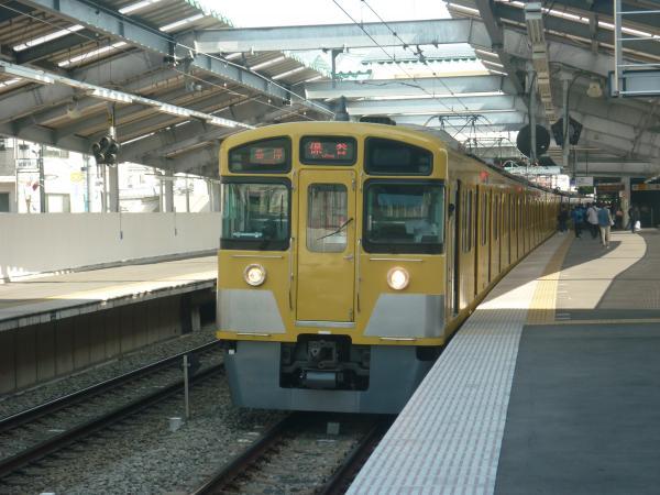西武2097F 各停保谷行き 2013-03-09