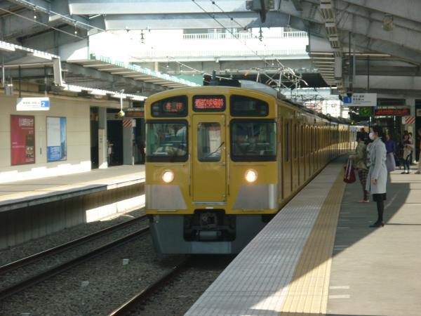西武2089F 各停西武球場前行き 2013-03-09