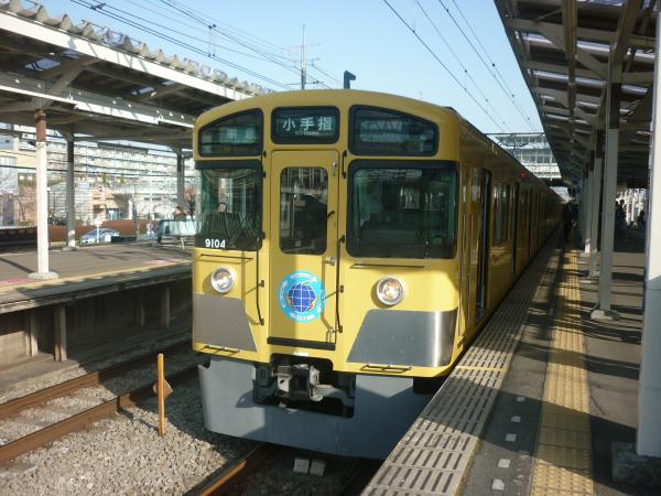 西武9104F 準急小手指行き2 2013-03-09