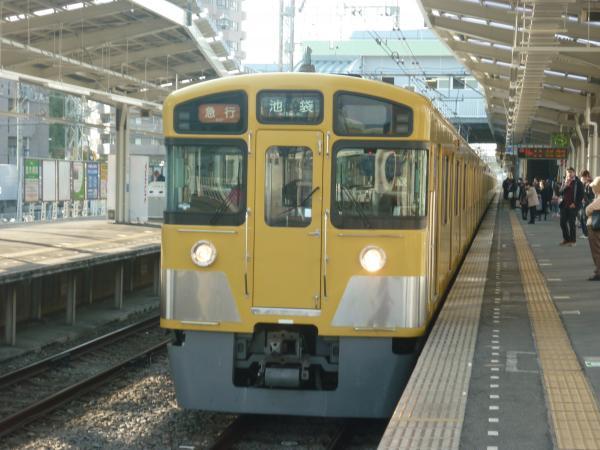 西武2453F+2063F 急行池袋行き 2013-03-09