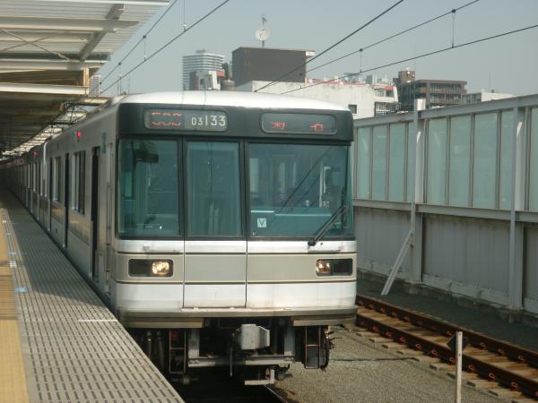 メトロ03-133F 菊名行き2 2013-03-10