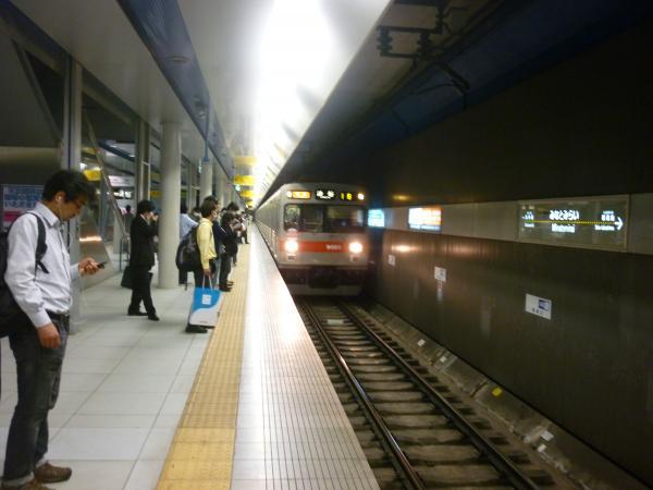 東急9001F 特急渋谷行き 2013-03-10