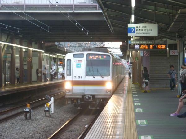 メトロ7134F 各停渋谷行き1 2012-06-20