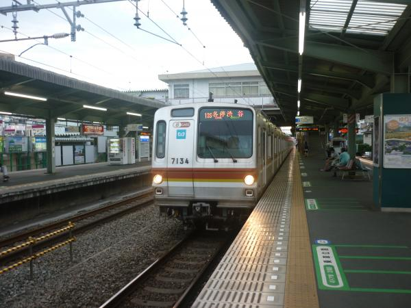 メトロ7134F 各停渋谷行き2 2012-06-20