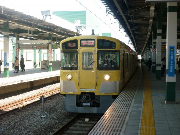 西武2073F 各停西武球場前行き1 2013-03-16