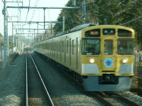 西武9107F 急行飯能行き2 2013-03-16