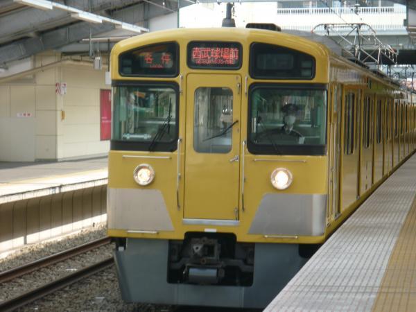 西武2097F 各停西武球場前行き1 2013-03-17