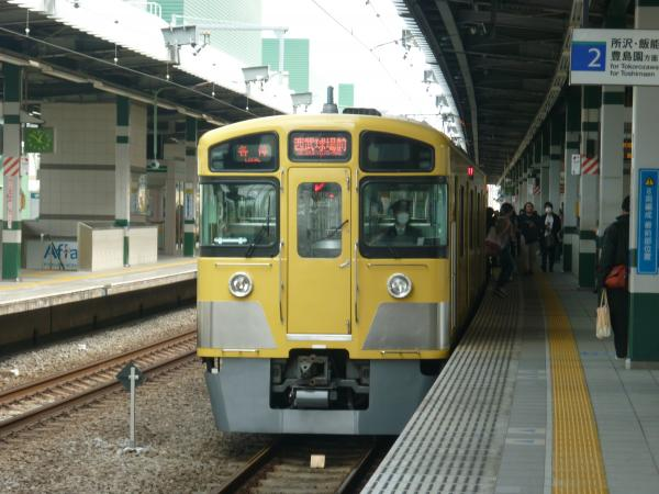 西武2097F 各停西武球場前行き2 2013-03-17