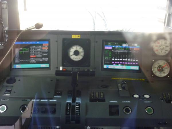 東急5050系 運転台