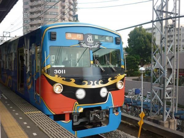 西武3011F 急行飯能行き1 2011-10-09