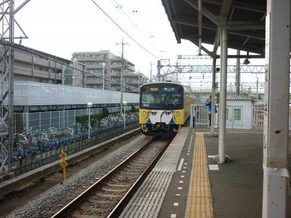 西武3011F 急行飯能行き2 2011-10-09