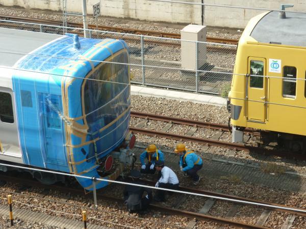 西武38111F 甲種輸送1 2011-10-30