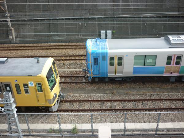 西武38111F 甲種輸送2 2011-10-30