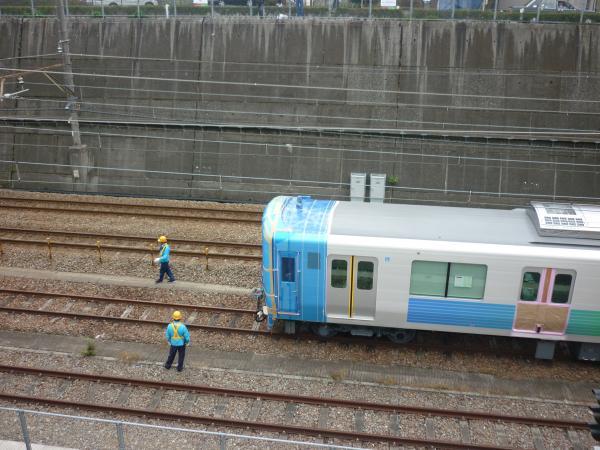 西武38111F 甲種輸送3 2011-10-30