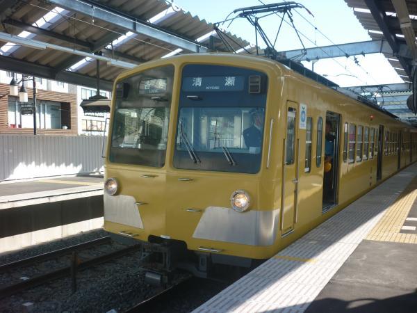 西武281F+287F+1241F 各停清瀬行き1 2011-11-01