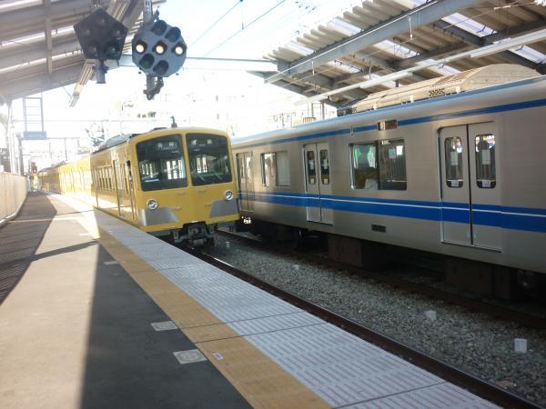西武281F+287F+1241F 各停清瀬行き2 2011-11-01
