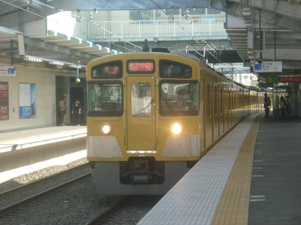 西武2087F 各停西武球場前行き 2011-11-01