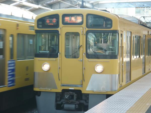 西武2089F 各停豊島園行き 2011-11-01