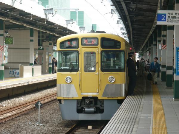 西武2085F 各停所沢行き2 2013-03-20