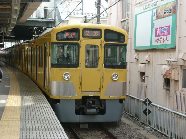 西武2085F 各停所沢行き3 2013-03-20