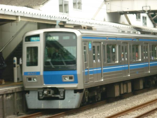 西武6102F 拝島快速西武新宿行き