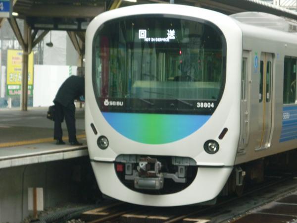 西武38104F 臨時回送 2011-11-06