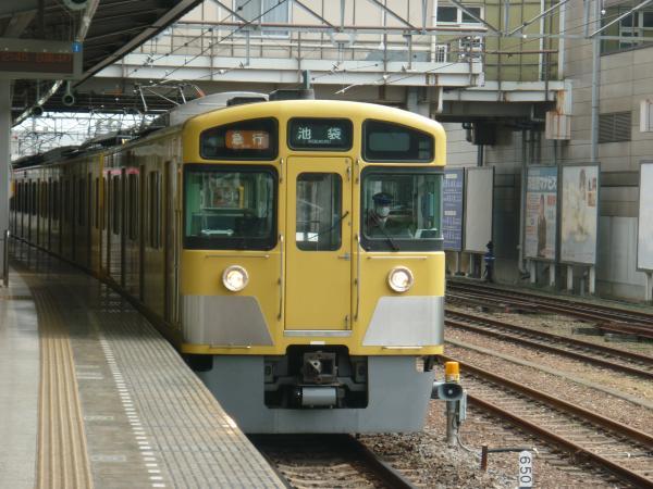 西武2063F 急行池袋行き 2013-03-23