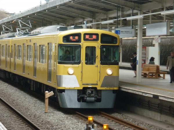 西武2089F 各停飯能行き2 2013-03-23