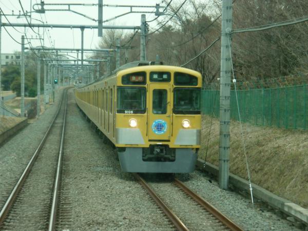 西武9108F 急行飯能行き 2013-03-23