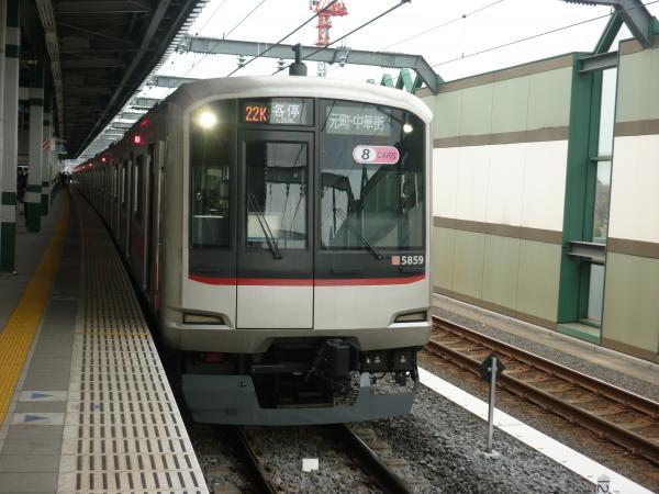 東急5159F 各停元町・中華街行き 2013-03-23