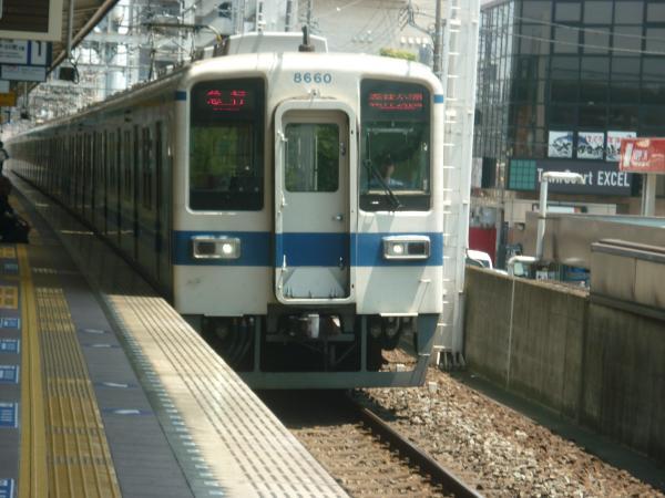 東武8181F+8560F 急行森林公園行き 2012-05-27