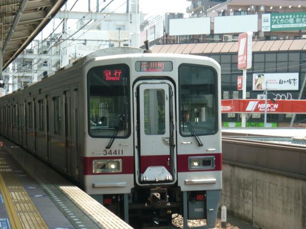 東武31611F+31411F 急行小川町行き 2012-05-27