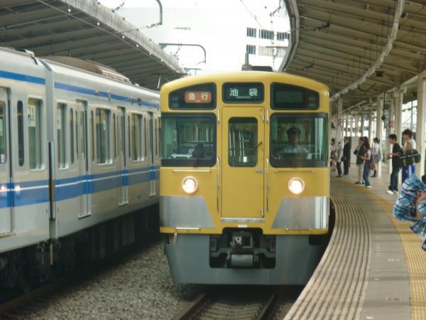 西武2063F 急行池袋行き 2012-06-20