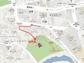 評定河原MAP