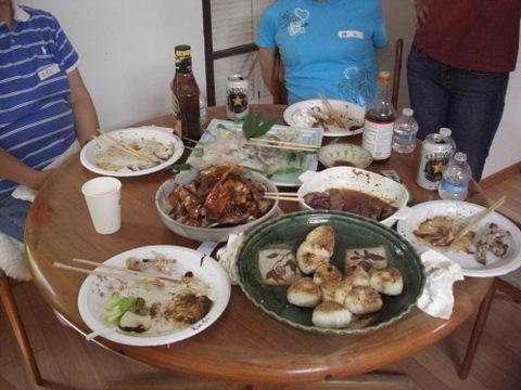 写経の会 BBQパーティー 9-24-11 005