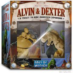 チケット トゥ ライド拡張:アルヴィン&デクスター:箱