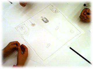 みんなの作業場2011.1.9:3.女の子チーム