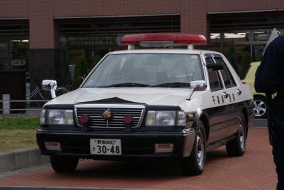千葉県警Y31セドリックPC