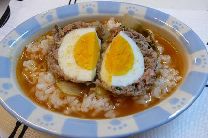 茹で卵入りロール白菜
